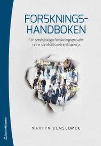 Forskningshandboken : för småskaliga forskningsprojekt inom samhällsvetenskaperna